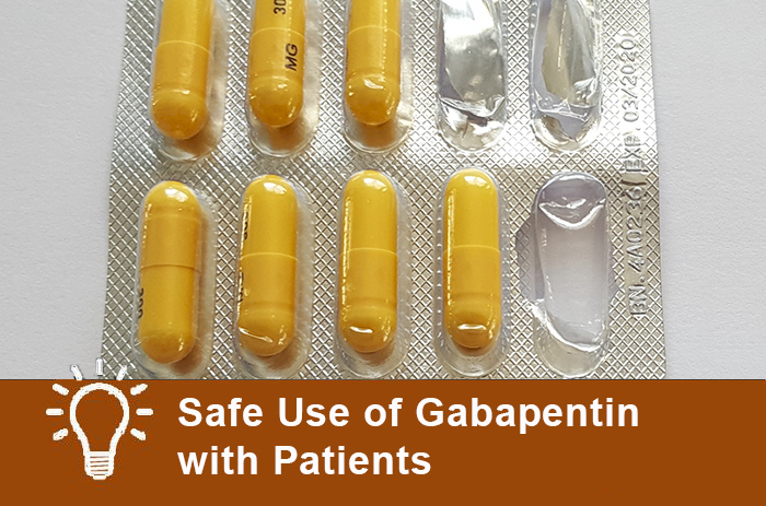 Safe Use of Gabapentin with Patients Carlat Reports   Carlat Publishing